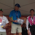Jan on the podium at Xterra Beaver Creek