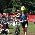 Kim at Xterra Beaver Creek