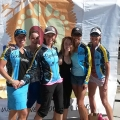 Spokettes at the live.love.tri ALL WOMAN TRI